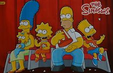 DIE SIMPSONS - A3 Poster (42 x 28 cm) - Bart Simpson Clippings Fan Sammlung NEU