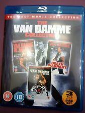 VAN DAMME  COLLECTION   BLU-RAY A.W.O.L BLACK EAGLE DEATH WARRANT 3 DISC