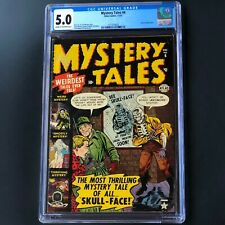 MYSTERY TALES #6 (Atlas 1952) 💥 CGC 5.0 💥 ONLY 32 in CENSUS! Atom Bomb panel