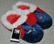 New England Patriots Logo Children Kids Plush Slippers - FREE USA SHIPPING - NEW