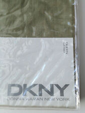 DKNY PURE Sage green FLAT SHEET  ~  DONNA KARAN - New in package