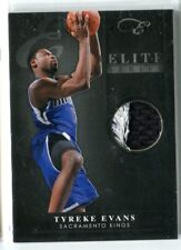 2010-11 Panini Black Box Elite Tyreke Evans GU PRIME PATCH RELIC 7/25 KINGS