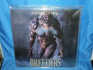 """Vintage Movie """"BREEDERS - It's Time To Prey"""" LaserDisc"""