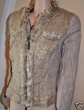 Excellent Blazer Biba Celebration Glam Creme Neu Gr.36