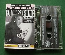 Louis Armstrong & All Stars Symph Hall Boston 1947 Cassette Tape - TESTED