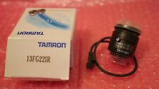 New TAMRON 13FG22IR 2.2mm fixed focus infrared lens