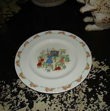 Royal Doulton School Room Theme Child's Fine China Bunnykins Plate