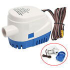 1100GPH Boat 12V Marine Automatic Submersible Bilge Auto Water Pump Float Switch photo