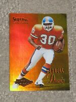 1995 Score Select Mirror Gold Terrell Davis #126 Rookie Excellent to Mint