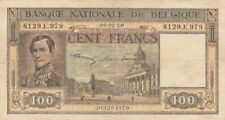 Belgium: 100 Francs, 20.02.1950, with watermarks