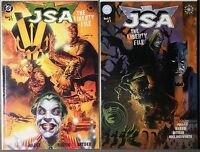 JSA The Liberty File #1 & 2 DC COMIC Elseworlds 2000 Batman Joker NM