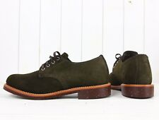 NEW CHIPPEWA SERVICE OXFORD  1901M75  BOOTS SUEDE  LEATHER  US 10,5D  EU43,5