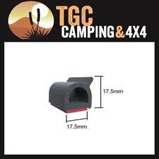 Sponge EPDM D Section 18mm X 18mm Rubber Air Seal Door Strip Self Adhesive p/m