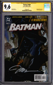 DC Comics! Batman #606! Variant Cover! CGC SS 9.6! Signed by Jim Lee!
