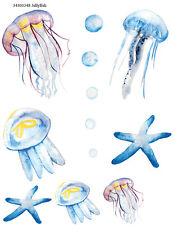 Ceramic Waterslide Decals  Jellyfish  34303348 FOOD SAFE LEAD FREE Free Shipping