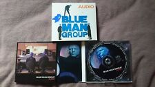 THE BLUE MAN GROUP - AUDIO Autographed CD