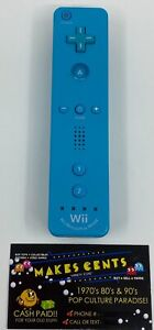 Nintendo Wii Wii U Motion Plus Controller Remote Light Blue