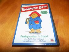 THE ADVENTURES OF PADDINGTON BEAR Goes To School 9 Children's Stories DVD NEW