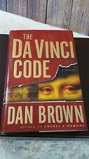 The Da Vinci Code by Dan Brown Hardcover Book