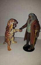 "Shiva the Tiger Attack - The Walking Dead McFarlane 5"" Negan Grimes Dixon Zombie"