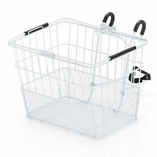 "Ultracycle Hook & Go Mesh Qr Basket White 13.5""W X 10D X 10H"