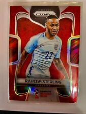 2018 Panini Prizm World Cup RED /149 RAHEEM STERLING # 73