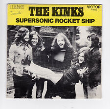 SP 45 TOURS THE KINKS SUPERSONIC ROCKET SHIP VICTOR RCA 41013 en 1972