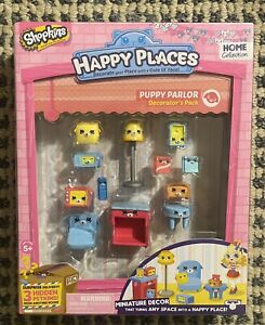 Shopkins PUPPY PARLOR Decorators Pack Miniature Decor  NEW