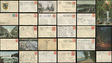 AUSTRALIA EARLY PPCs POSTCARDS MACHINE CANCELS 1903-14 ...EACH PRICED