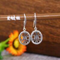 9.5x11.5mm Oval Cabochon Semi Mount Wedding Earrings 925 Sterling Silver Jewelry