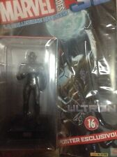 [Nuovo] 16 Ultron + Fascicolo/Poster Marvel Heroes 3D 2015-2016 Action Figure