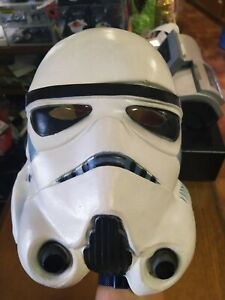 """Masque Souple """"Cesar"""" Star Wars/ Stormtrooper pour Adulte - Collector/Collection"""