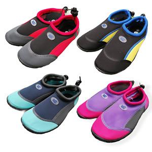 Surf State Kids Aqua Wet Shoes Swim Water Rock Surf Neoprene Non Slip Grip Sole