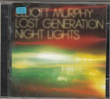 ELLIOTT MURPHY - lost generation night lights CD