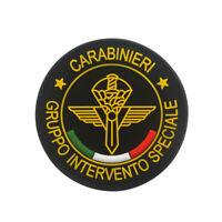 3D PVC Italy Carabinieri Gruppo Intervento Speciale Tactical Badge Patch