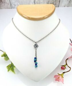 Carolyn Pollack Sterling Silver Lapis & Turquoise Tassel Pendant Necklace