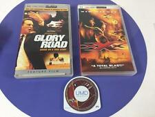 Sony PSP UMD Video 3 pc Lot Glory Road Film  XXX Van Diesel Spiderman 2