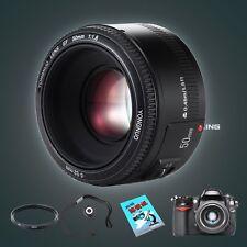YONGNUO YN 50MM F/1.8 Large Aperture Auto Focus Lens Fr Canon +  UV Filter