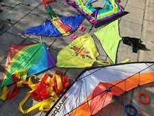 6 x Flugdrachen Einleiner und Zweileiner für Kinder
