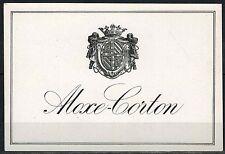 Etiquette de Vin - Bourgogne - Aloxe-Corton - New - Never Stuck - Réf.n°146