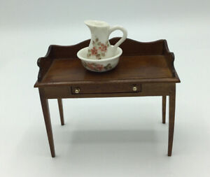 Dolls House  Wash Stand, With Jug And Bowl