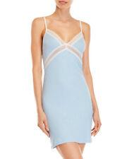 La Perla Studio Collection S Ribbed Chemise Nightgown Blue