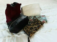 Bundle: 5 New Bags & Purses: White Shoulder Bag,  2 Make Up,  2 Wallet Purses