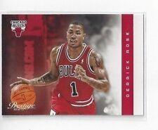 2012-13 PANINI PRESTIGE BASKETBALL DERRICK ROSE #118 - CHICAGO BULLS
