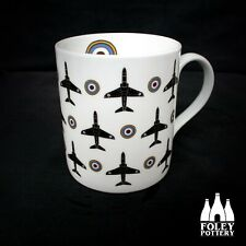 AP: Hawk, aeroplane, RAF, Plane, Fine Bone China: Mug By Foley Pottery