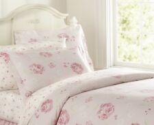 Pottery Barn Kids Amy's Romantic Floral Organic Roses Duvet Sham Sheet Set Pink