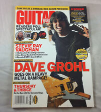 Stevie Ray Vaughan Dave Grohl Aerosmith Feb 2004    Guitar World Magazine