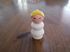 Fisher Price Little People Play family Nurse Lady Vintage Hospital part 931 dr