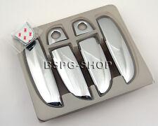 Accessorio per Hyundai i10 2007-2012 Copertura Maniglie Portiere Cromate Tuning