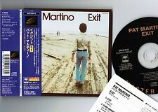 Ex+! PAT MARTINO Exit+1 JAPAN PROMO Mini-LP CD w/Obi SRCS-9413 DSD MasterSound